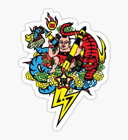 Bad Boy Dan Sticker