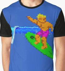 CALIFORNIA GAMES - SURFING - MASTER SYSTEM Graphic T-Shirt