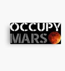 elon musk occupy mars Canvas Print