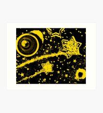 StarTrails Art Print
