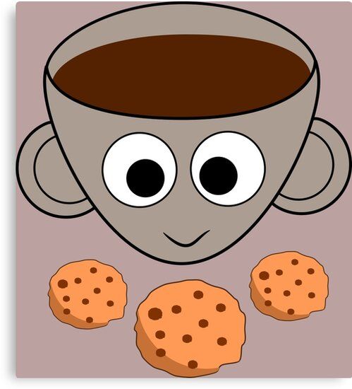 Funny coffee and cookies by cocodes