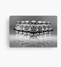 Storm Troopers Line up 2 Canvas Print