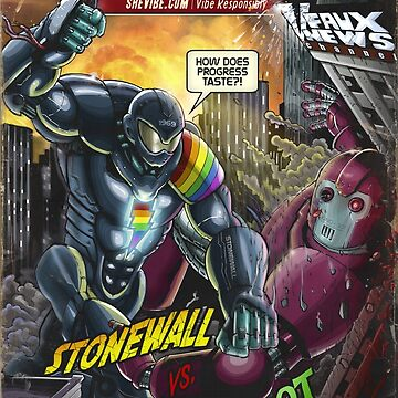 SheVibe Presents Stonewall Vs. Igno-bot Cover Art by shevibe