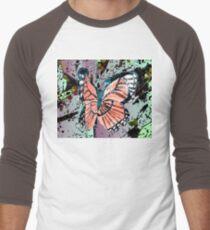 Orange butterfly design T-Shirt
