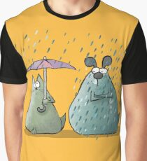 Rain - Cat and Dog Graphic T-Shirt