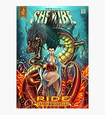 SheVibe Ride BodyWorx by Sliquid Cover Art Photographic Print