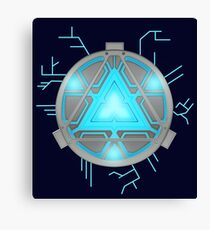 arc reactor Canvas Print