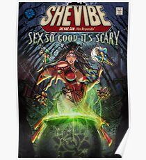 SheVibe Sliquid Cover Art Poster