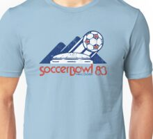 Soccerbowl 83 - Retro Art Unisex T-Shirt