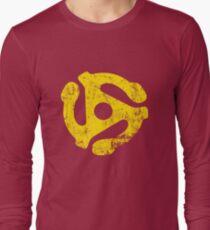 45 RPM Record adapter Tee Long Sleeve T-Shirt