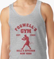 Fogwell's Gym Box the Devil Tank Top