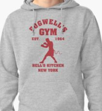 Fogwell's Gym Box the Devil Pullover Hoodie