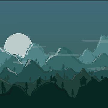 Mountains by annnaalove