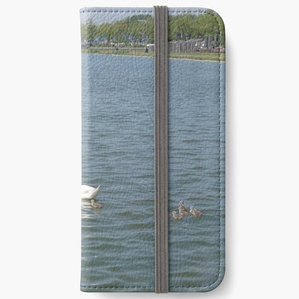 Spacy-Umgebung iPhone Flip-Case