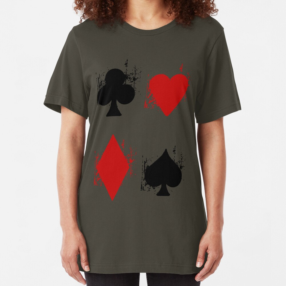 Ace of Tee. Slim Fit T-Shirt