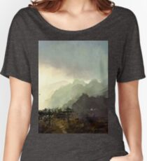 Misty Mountain Women's Relaxed Fit T-Shirt