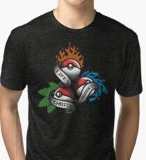 Life's Hardest Choice - Pokemon Tri-blend T-Shirt