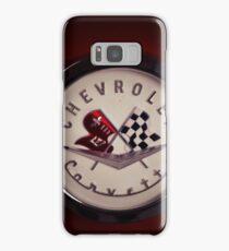 chevrolet corvette, corvette logo Samsung Galaxy Case/Skin