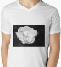 Heart Petal White Rose T-Shirt