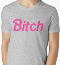 Bitch  Men's V-Neck T-Shirt