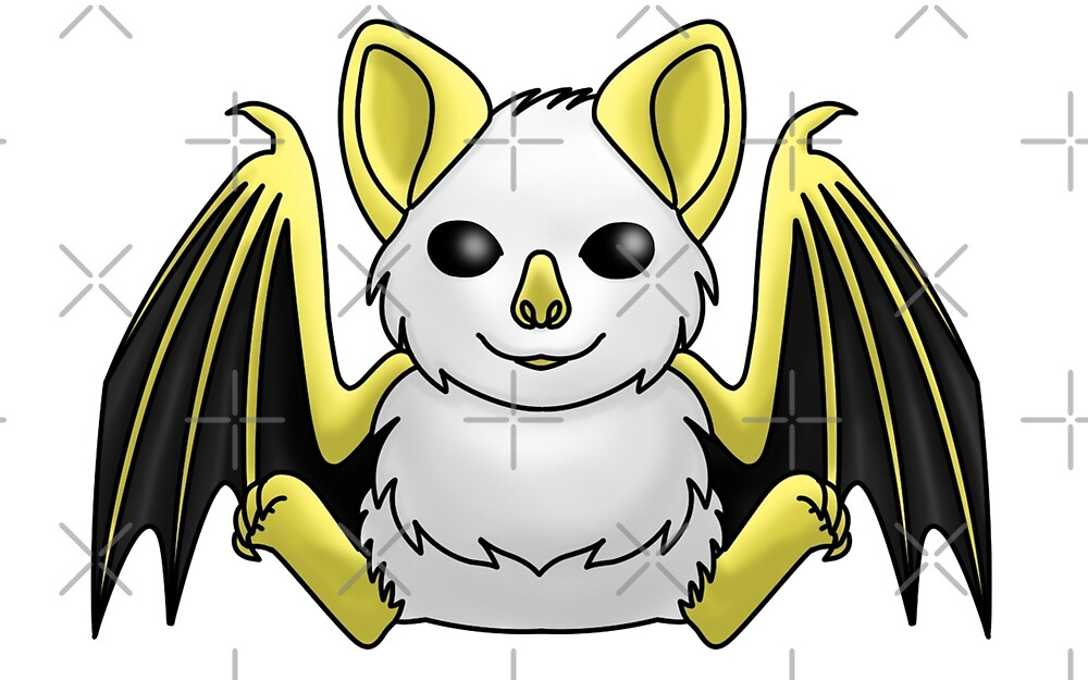 Honduran White Bat by The-Firestorm