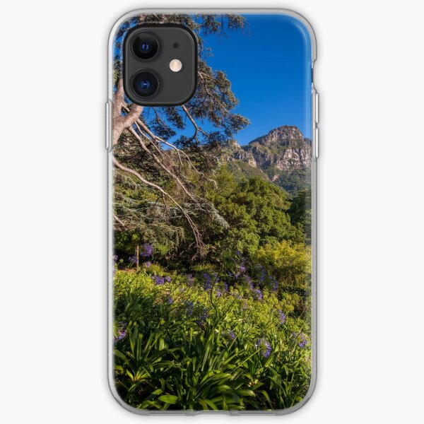 View from Kirstenbosch, South Africa iPhone Soft Case