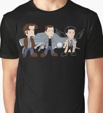 Sam, Dean, Castiel Graphic T-Shirt