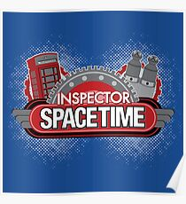 Inspector Spacetime Blorgon Edition Poster