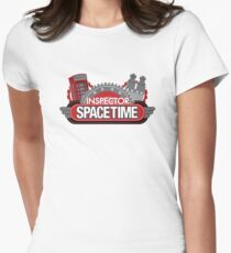 Inspector Spacetime Blorgon Edition Womens Fitted T-Shirt