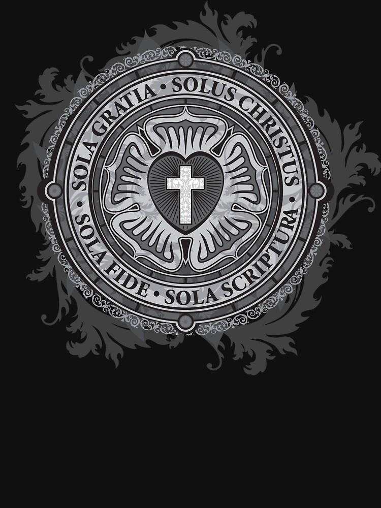 Luther Rose Christliches Luther Siegel von carlhuber