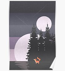 Two Moon Night Poster