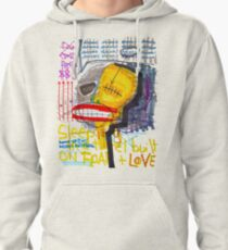 Sleeping in a Hotel Built on Fear & Love Pullover Hoodie