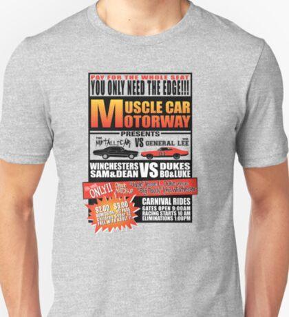 MuscleCar Motorway - Winchesters Vs Dukes T-Shirt