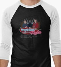 Troy and Abed in the Morning... NIGHTS! Men's Baseball ¾ T-Shirt