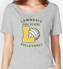 Lawndale HS Volleyball Women's Relaxed Fit T-Shirt