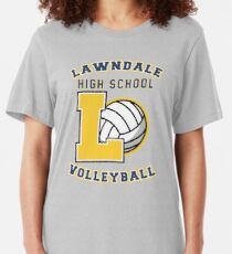 Lawndale HS Volleyball Slim Fit T-Shirt