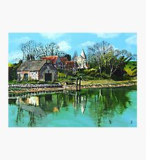 Piddinghoe Reflections Photographic Print