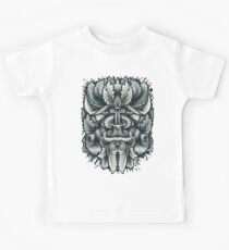 Filigree Leaves Forest Creature Beast Variant Kids Tee