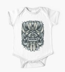 Filigree Leaves Forest Creature Beast Variant One Piece - Short Sleeve