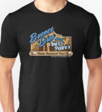 Inez & Pedros Alamo Basement Tours Slim Fit T-Shirt
