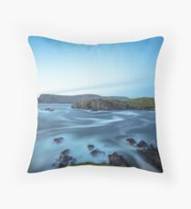 Glen Head, Glencolmcille Throw Pillow
