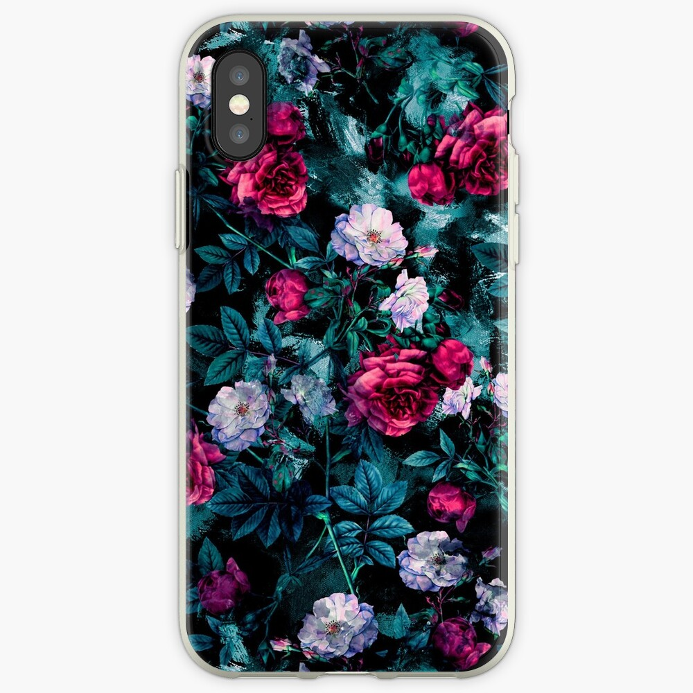 RPE FLORAL ABSTRACT III iPhone Case & Cover