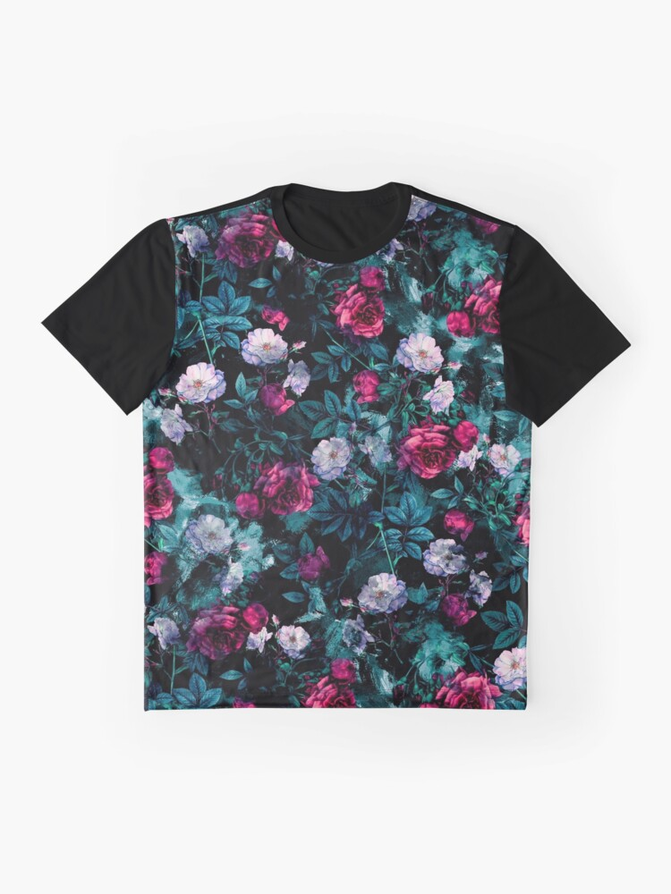 Alternate view of RPE FLORAL ABSTRACT III Graphic T-Shirt