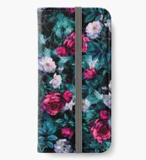 RPE FLORAL ABSTRACT III iPhone Flip-Case/Hülle/Klebefolie