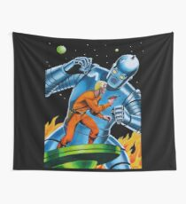 GIANT ROBOT  Wall Tapestry