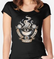 The Holy Trinity of Caffeine Women's Fitted Scoop T-Shirt