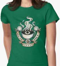 The Holy Trinity of Caffeine Womens Fitted T-Shirt