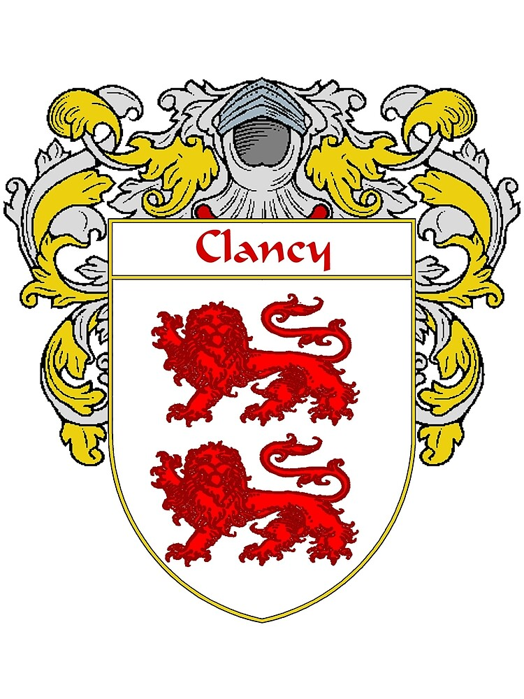 Clancy Coat of Arms/Family Crest by William Martin