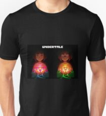 Undertale- Frisk and Chara Unisex T-Shirt