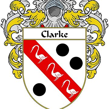 Clarke Coat of Arms/Family Crest by IrishArms